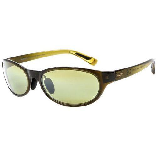 Okulary Słoneczne Maui Jim Pipiwai Trail Polarized HT416-15F, kolor żółty