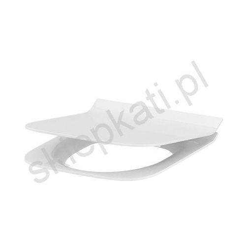 Cersanit deska crea slim prostokątna duroplast wolnoopadająca k98-0178