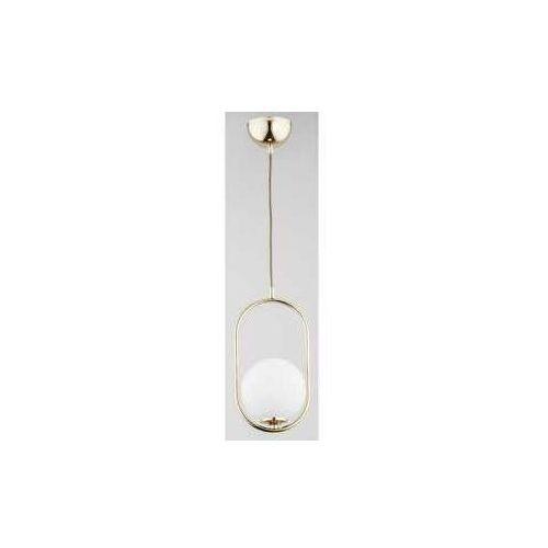 Alfa noval 6069810 lampa wisząca zwis 1x40w e14 złoty (5900458606982)
