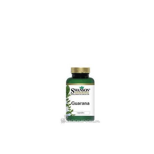 Swanson Guarana 500mg - 100 kaps.