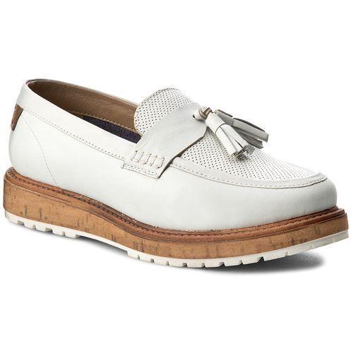 Półbuty - bark loafer wf0690102 off white 98, Wrangler, 37-40