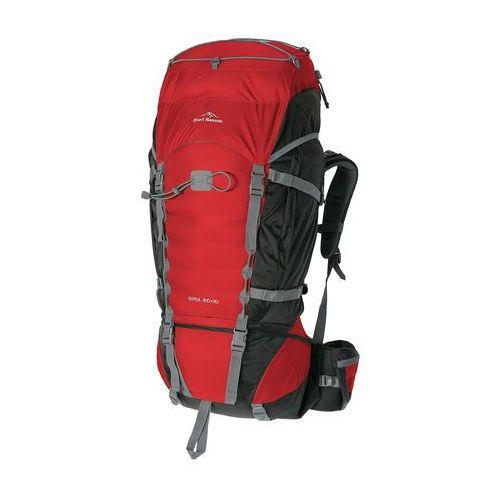 Fjord nansen plecak-turystyczny himil 60+10 red/black