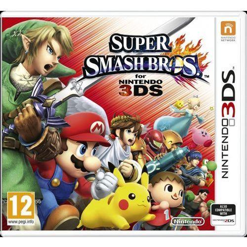 Gra 3ds super smash bros + darmowa dostawa! marki Nintendo