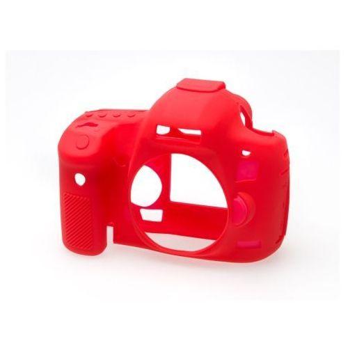 Easycover  osłona gumowa dla canon 5d mark iii/5ds/5dsr czerwona