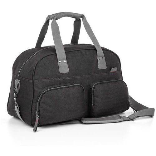 Torba weekendowa Topgal EFFI 18004 G - Grey, kolor szary