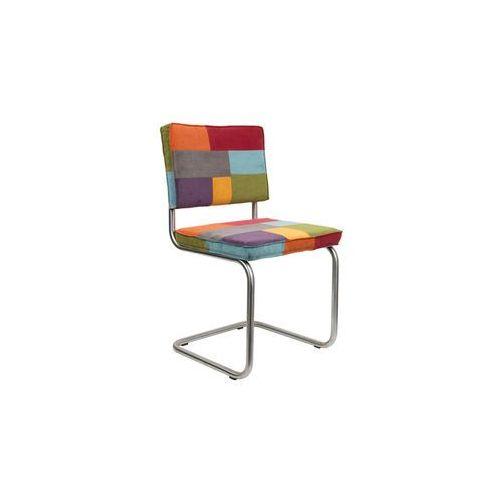 Zuiver Krzesło RIDGE BRUSHED RIB wielokolorowe 1100226