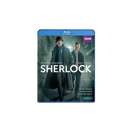 OKAZJA - Best film Sherlock. seria 2 (2 blu-ray)