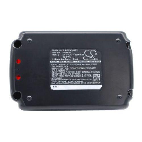 Black&Decker CST1200 / LBXR36 2000mAh 72.00Wh Li-Ion 36.0V (Cameron Sino), CS-BPX360PX