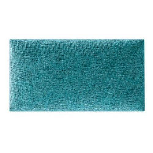 Panel ścienny tapicerowany Stegu Mollis prostokąt 30 x 15 cm turkusowy