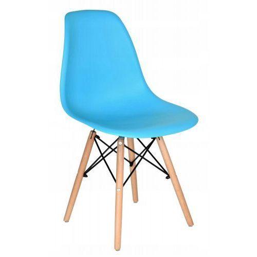 Krzesło milano niebieskie marki Krzeslaihokery