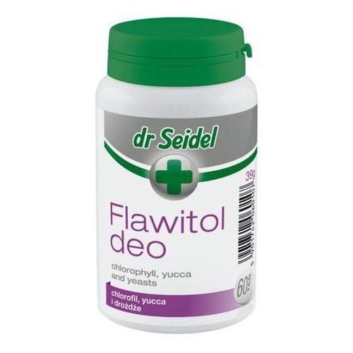 Dr seidel flawitol deo z chlorofilem i yucca schidigera 60 tabl. marki Dermapharm