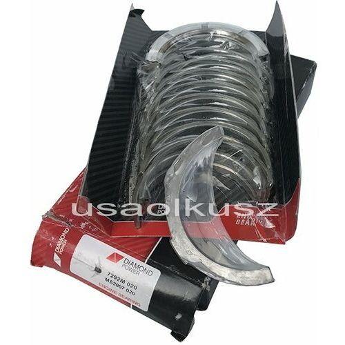 Panewki główne wału korbowego silnika 0,20 blok żeliwny ford crown victoria 4,6 v8 marki Diamond power