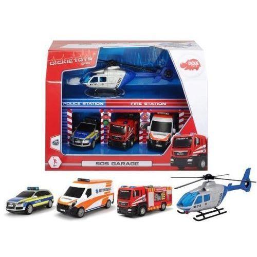 SOS - Zestaw pojazdów w garażu (4006333054358)