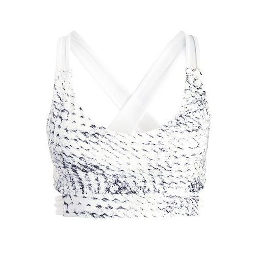 Under Armour STRAPPY BRALETTE Biustonosz sportowy wanderlust multicolor/white (0190510073752)
