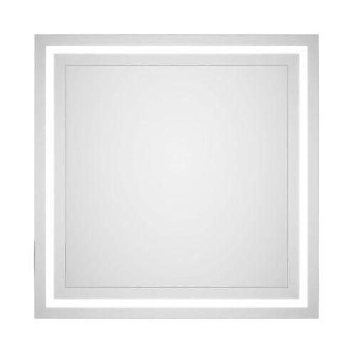 Dubiel vitrum Lustro łazienkowe bez oświetlenia torino 60 x 60 cm