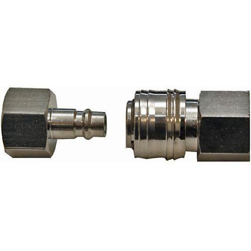 Komplet szybkozłączek PANSAM A535412 gwint wewnętrzny 1/2 cala