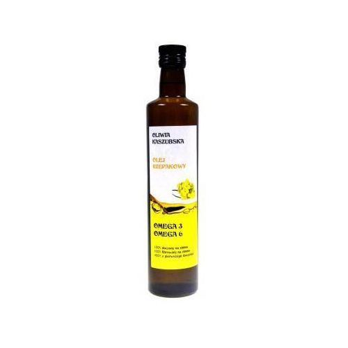 Olej rzepakowy tłoczony na zimno 0,5 l (5906395631001). Tanie oferty ze sklepów i opinie.