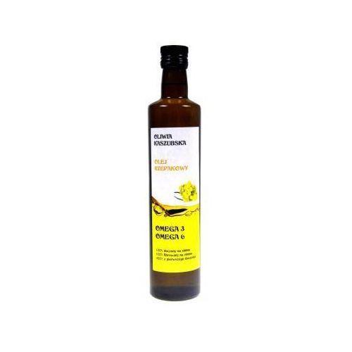 Olej rzepakowy tłoczony na zimno 0,5 l marki Acs