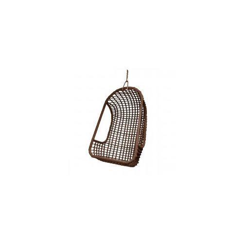 Wiszący fotel na zewnątrz brązowy - HK Living, RAT0046