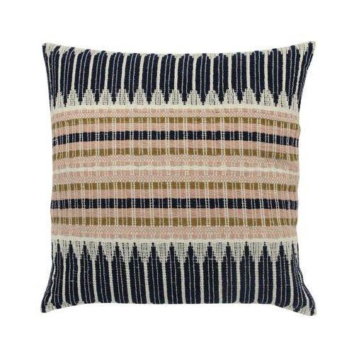 HK Living Wielokolorowa poduszka wykonana z bawełny z azteckimi wzorami (43x43) TKU2045