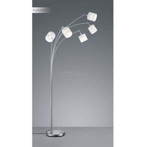 Reality tommy lampa stojąca nikiel matowy, 5-punktowe - nowoczesny - obszar wewnętrzny - tommy - czas dostawy: od 3-6 dni roboczych (4017807395143)