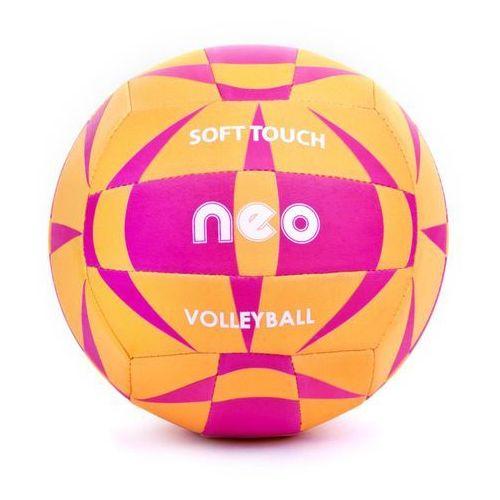 Spokey NEO SOFT - Piłka siatkowa neoprenowa; r.5 - Pomarańczowy (5901180385541)