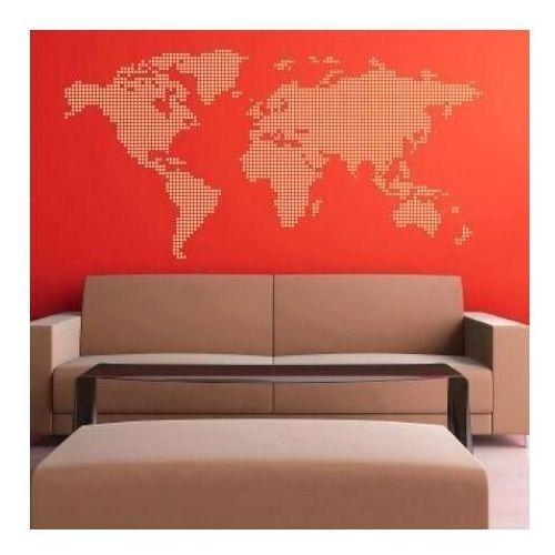 naklejka mapa świata 03