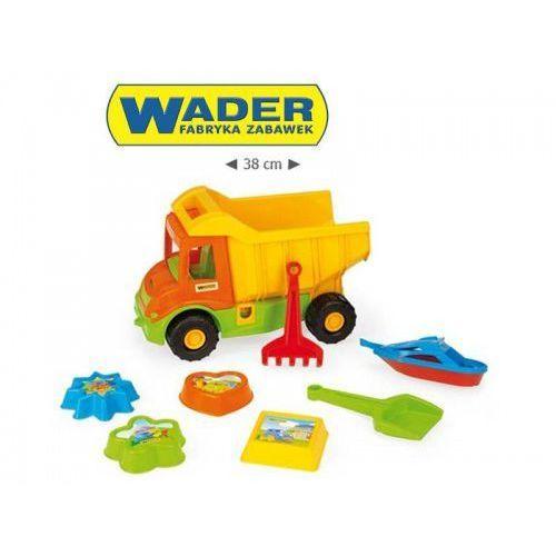 WADER Wywrotka zestaw piaskowy iml 7el Multi Truck
