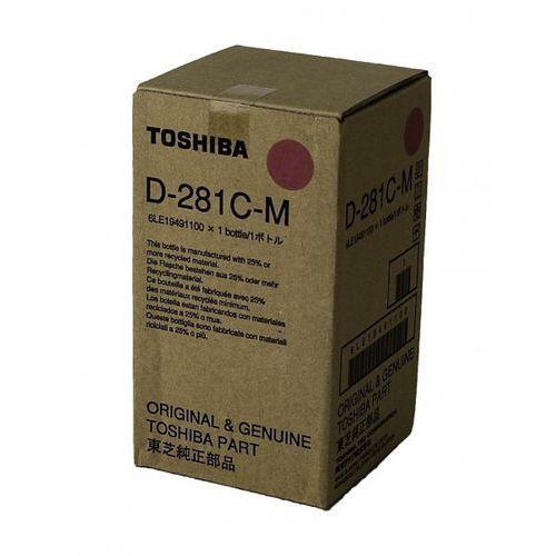 wywoływacz magenta d-281c-m, d281cm, 6le19491100 marki Toshiba