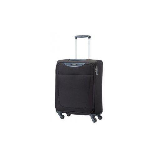 mała/ kabinowa walizka z kolekcji base hits 4 koła zamek szyfrowy z systemem tsa materiał poliester marki Samsonite