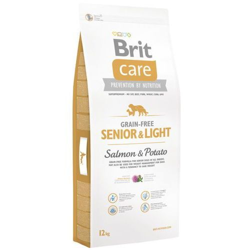 Brit care grain-free senior&light salmon&potato 1kg marki Brit care pies