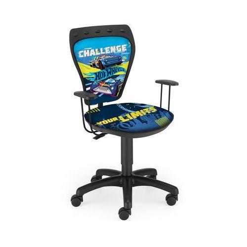 Krzesło obrotowe z chłopięcymi motywami Ministyle Hot Wheels
