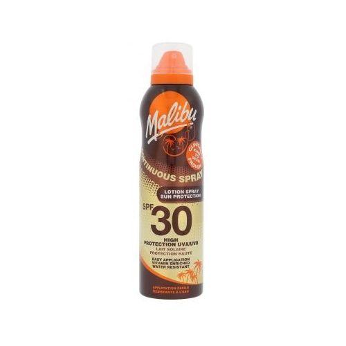 continuous spray spf30 preparat do opalania ciała 175 ml dla kobiet marki Malibu