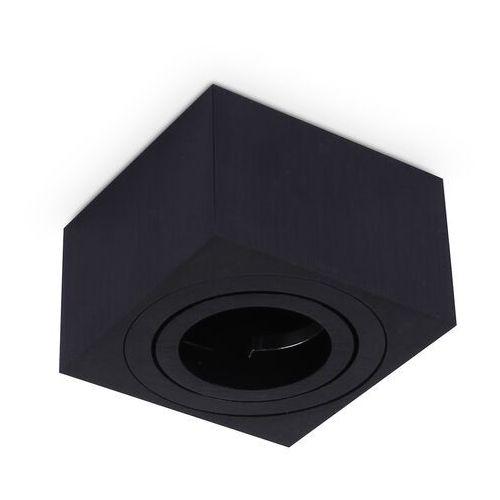 Zestaw - Lampa Prostokątna Czarna, H050 + Żarówka 5W, KPOH37SCZ