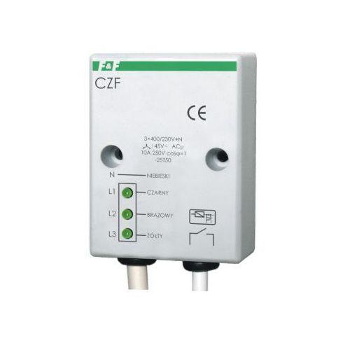 Przekaźnik zaniku i asymetrii faz F&f 10A 1Z 4sek 45V CZF, CZF/FIF