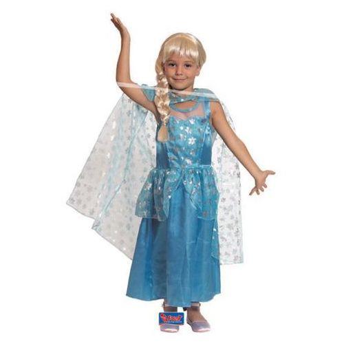 Elza - królowa lodu - przebranie karnawałowe dla dziewczynki - rozmiar M