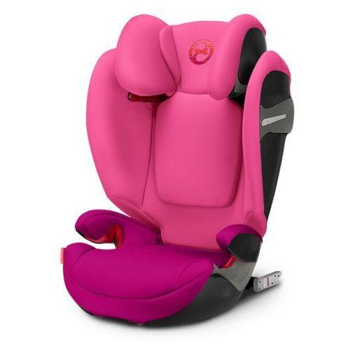 CYBEX Fotelik 15-36kg SOLUTION S-FIX Passion Pink (4058511253329)