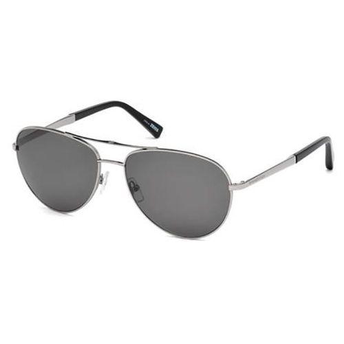 Ermenegildo zegna Okulary słoneczne ez0035 polarized 14d