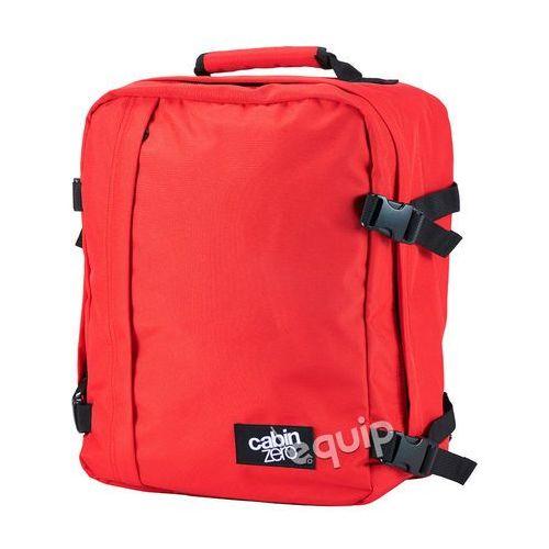 Cabinzero Plecak torba podręczna mini + pokrowiec organizer gratis - mysore red