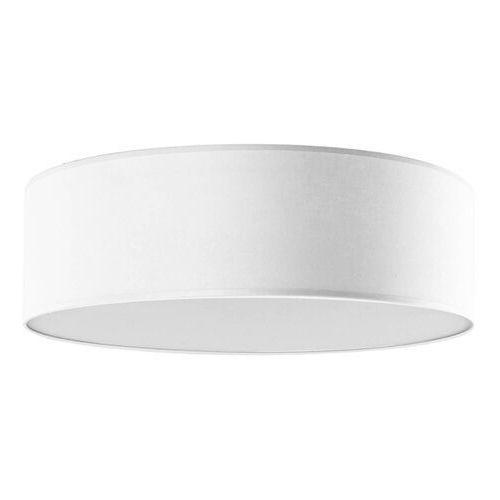 Plafon LAMPA sufitowa IGLO 654/50 BIA okrągła OPRAWA abażurowa biała palomaro (5902622118178)