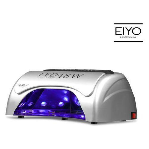 Najmocniejsza na rynku lampa led uv - do hybryd i żeli - srebrna – 48 w marki Neonail
