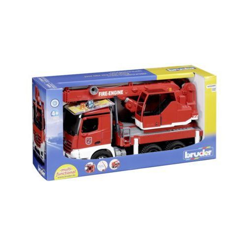 Bruder mb arocs fire engine crane truck with light & soun (4001702036751)