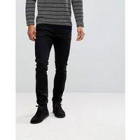 Nudie Jeans Co Tilted Tor Skinny Fit Jean Dry Cold Black - Black
