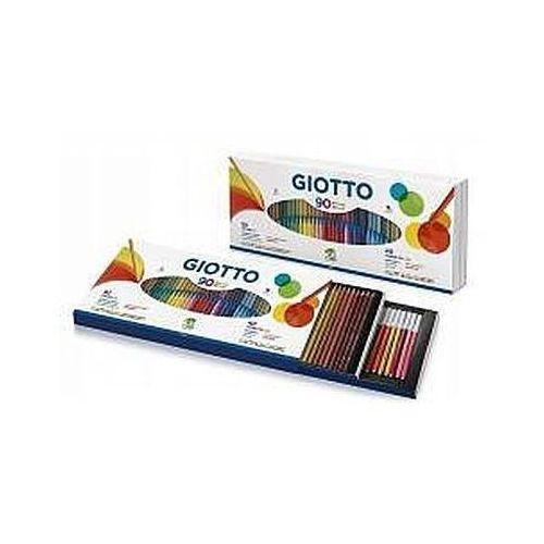 Zestaw kredki stilnovo i flamastry 90szt marki Giotto