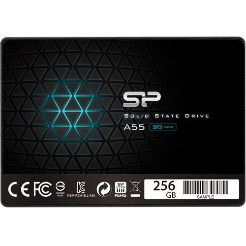 "Dysk SSD Silicon Power A55 256GB 2.5"" SATA3 (520/330) 7mm, 1_606369"