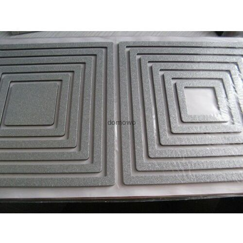 Andelprerov Dekoracje naklejki ozdoby ścienne -kwadraty