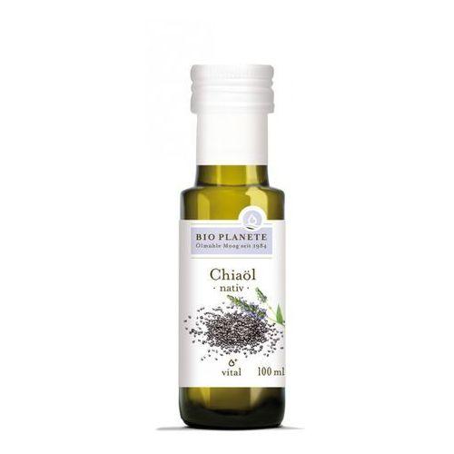 Bio planete (oleje i oliwy) Olej z nasion chia virgin bio 100 ml - bio planete. Najniższe ceny, najlepsze promocje w sklepach, opinie.