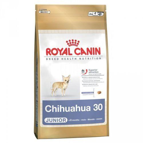 ROYAL CANIN Chihuahua Junior 1,5kg. Najniższe ceny, najlepsze promocje w sklepach, opinie.