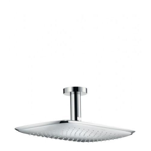 Hansgrohe puravida głowica prysznicowa puravida 400 mm dn15 z przyłączem sufitowym 100 mm 27390000