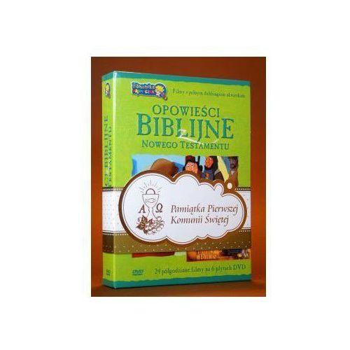 Opowieści biblijne z nowego testamentu (box 6 płyt dvd) zestaw komunijny marki Praca zbiorowa